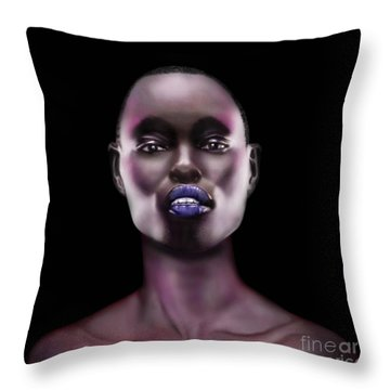 How Beautiful - The Color Purple Throw Pillow
