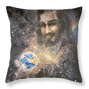 How Big Is Your Problem Throw Pillow