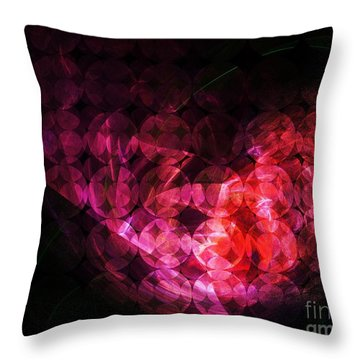How Can You Mend A Broken Heart? Throw Pillow by Elizabeth McTaggart