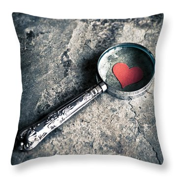 How Do I Love Thee? ... Throw Pillow by Jan Bickerton