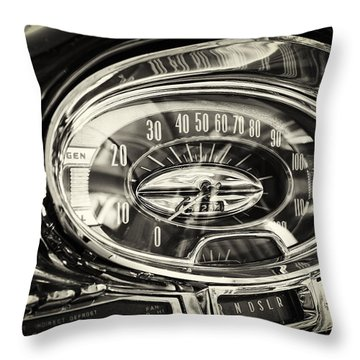 How Fast And How Far Throw Pillow