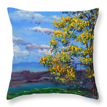 How Lovely Is Your Dwelling Place Throw Pillow by Dan Whittemore