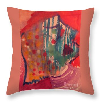 How Much I Loved You Original Contemporary Modern Abstract Art Painting Throw Pillow by RjFxx at beautifullart com