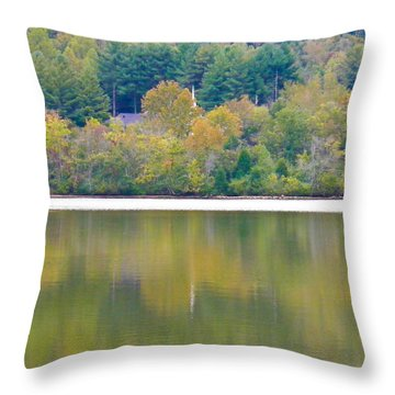 Throw Pillow featuring the photograph How Sweet The Sound by Nick Kirby