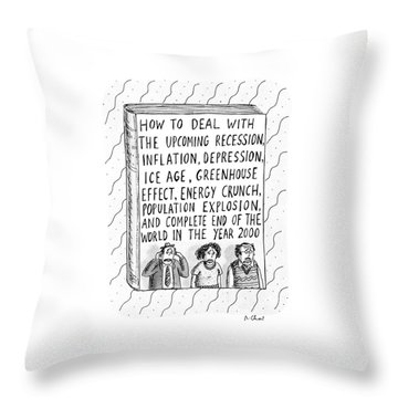 How To Deal With The Upcoming Recession Throw Pillow