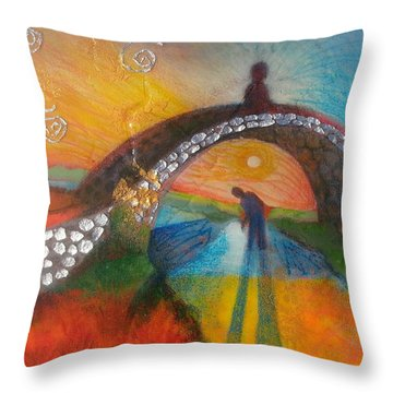 How We Were After The Storm Throw Pillow