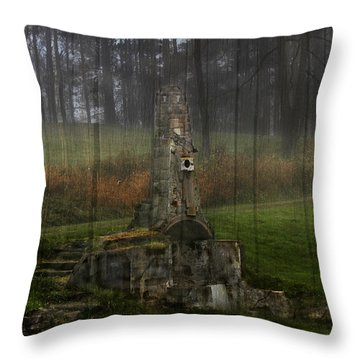 Howard Chandler Christy Ruins Throw Pillow