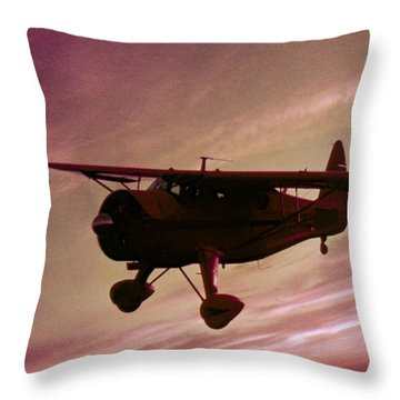 Howard Dga Throw Pillow by Greg Reed