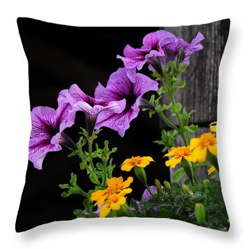 Howe Covered Bridge Beauty Throw Pillow by Mike Martin