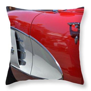 Throw Pillow featuring the photograph Hr-37 by Dean Ferreira