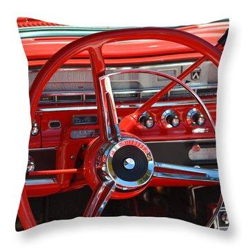 Throw Pillow featuring the photograph Hr-41 by Dean Ferreira
