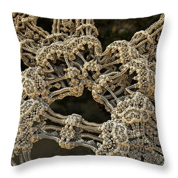 Hub Throw Pillow by Kevin Trow