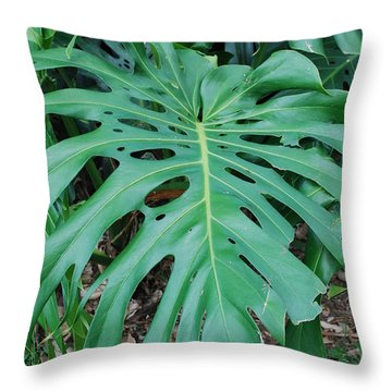 Huec Throw Pillow