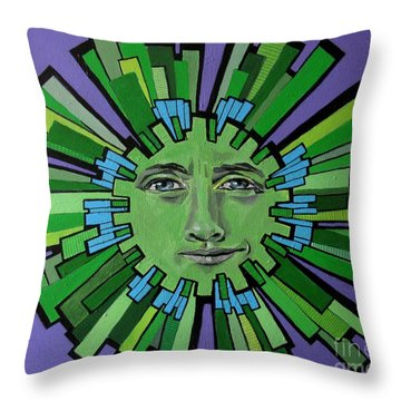 Hugh Grant - Sun Throw Pillow