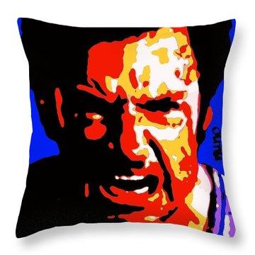 Hugh Jackman Wolverine  Throw Pillow