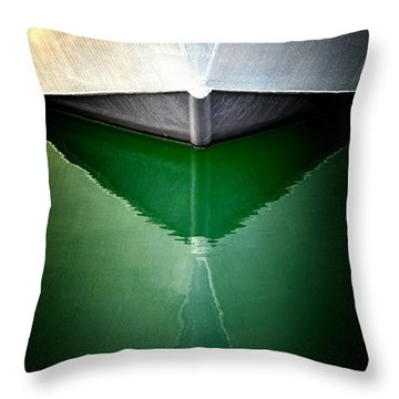 Hull Abstract 3 Throw Pillow