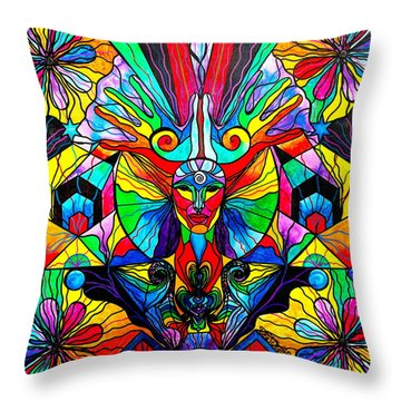 Human Self Awareness Throw Pillow