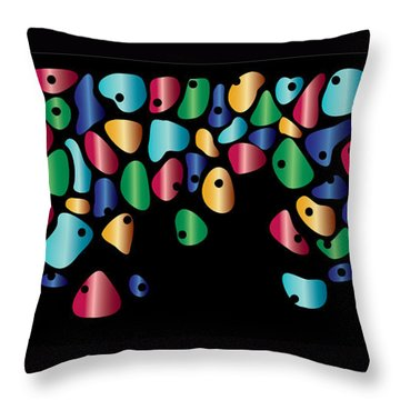 Humanity Throw Pillow