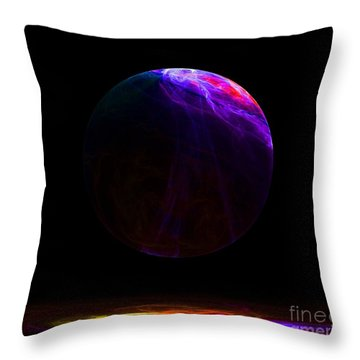 Humble Beginnings Throw Pillow by Peter R Nicholls