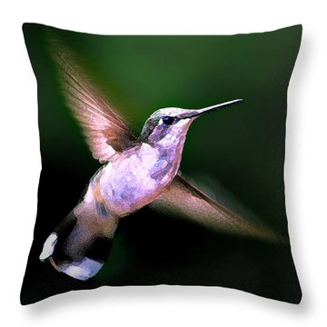 Hummer Ballet 1 Throw Pillow