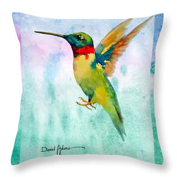 Da202 Hummer Dreams Revisited By Daniel Adams Throw Pillow