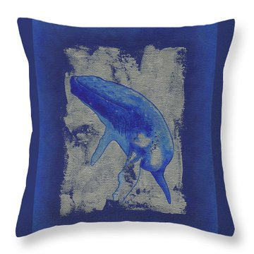 Humpback Whale Song Throw Pillow