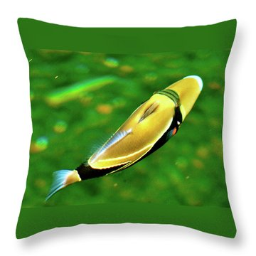 Humuhumunukunukuuapuaa Throw Pillow