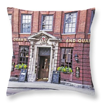 Hung Drawn And Quartered Throw Pillow