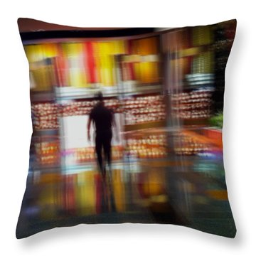Throw Pillow featuring the photograph Hunter-gatherer by Alex Lapidus