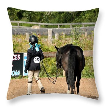 Hunter Walk Throw Pillow