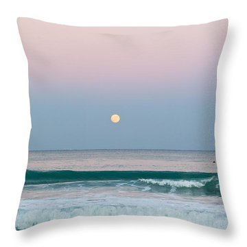 Hunters Moonrise Throw Pillow by Michelle Wiarda