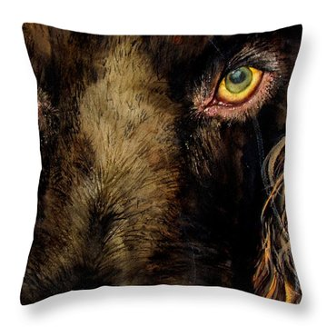 My Charlie Throw Pillow by Lil Taylor
