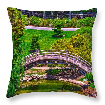 Huntington Library Ca Throw Pillow