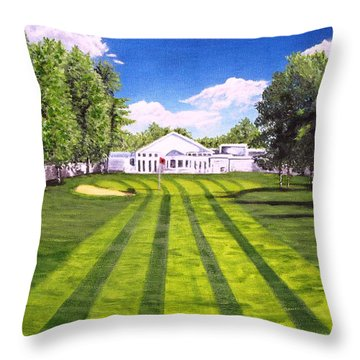 Hurricane Andrew Memorial Throw Pillow by Kevin F Heuman