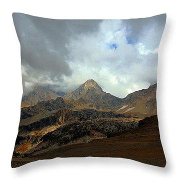 Hurricane Pass Throw Pillow