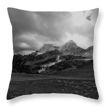 Throw Pillow featuring the photograph Hurricane Pass Storm by Raymond Salani III