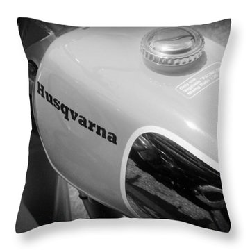 Husqvarna Throw Pillow