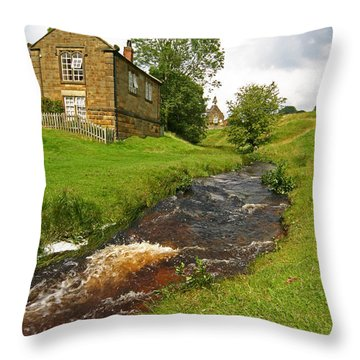 Hutton Beck 2 Throw Pillow