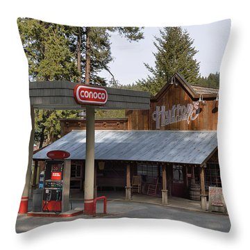 Huttons General Store Throw Pillow