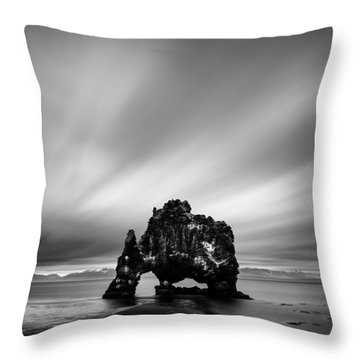 Hvitserkur Throw Pillow