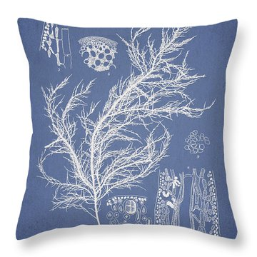 Hyalosiphonia Caespitosa Okamura Throw Pillow by Aged Pixel