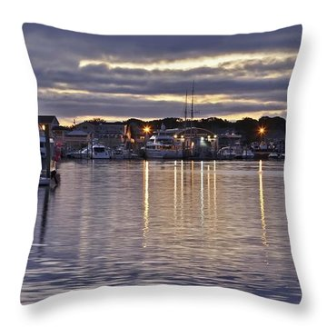 Hyannis Sunset Throw Pillow