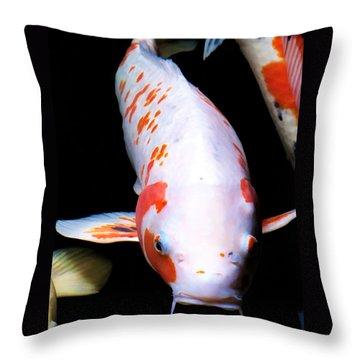 Throw Pillow featuring the photograph Hyatt 13 by Dawn Eshelman