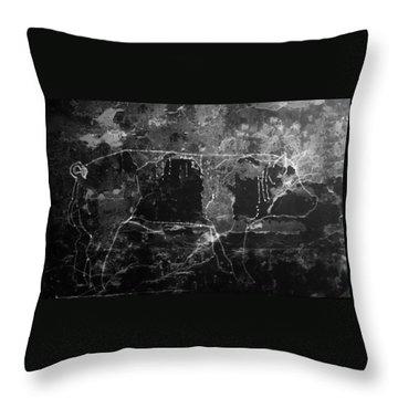 Hybrid Boar 7 Throw Pillow