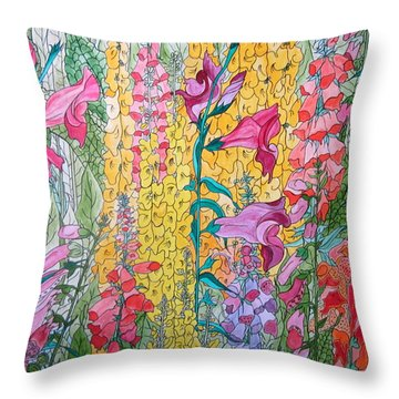 Hybrids 4 Throw Pillow
