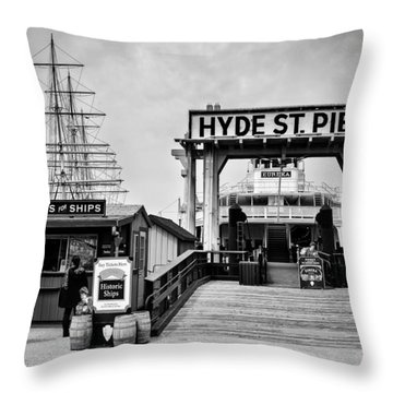 Hyde St. Pier Throw Pillow