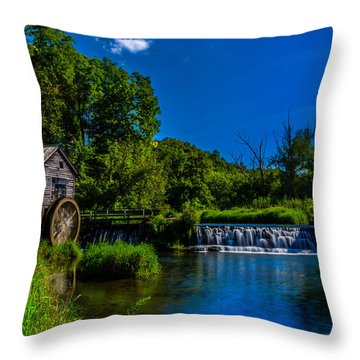 Hyde's Mill Throw Pillow