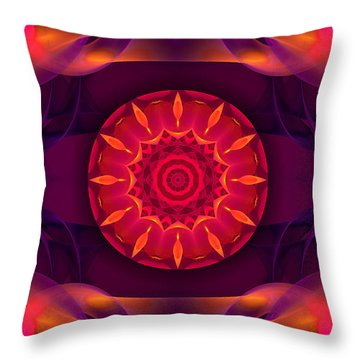 Hypnosis Throw Pillow by Hanza Turgul