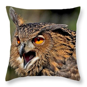 Throw Pillow featuring the photograph Hypnotic by Kathy Baccari