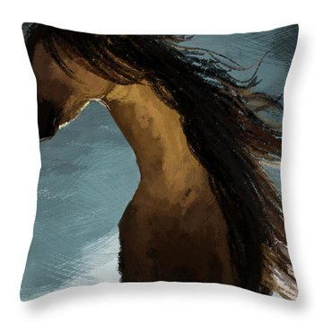 Hypnotized Throw Pillow